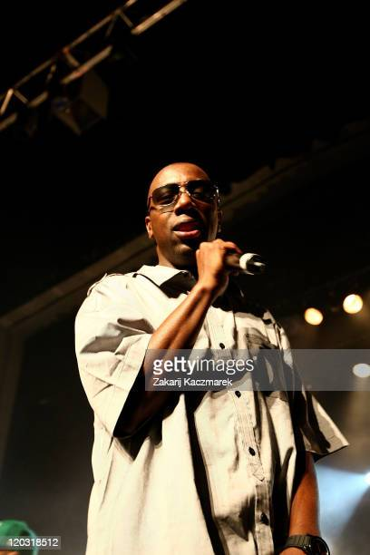 Inspectah Deck of the Wu Tang Clan performs live on stage at the Enmore Theatre on August 4 2011 in Sydney Australia