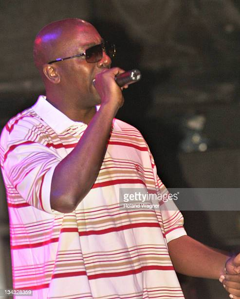 Inspectah Deck of the WuTang Clan during 2005 Festival im HB September 16 2005 at Main Train Station in Zürich ZH Switzerland