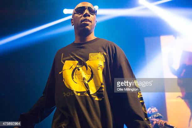 Inspectah Deck of Wu Tang Clan performs onstage at O2 Academy Brixton on June 4 2015 in London United Kingdom
