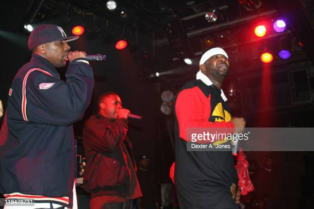 Inspectah Deck The GZA and WuTang Clan perform live at Toad's Place on January 13 2008 in New Haven Connecticut