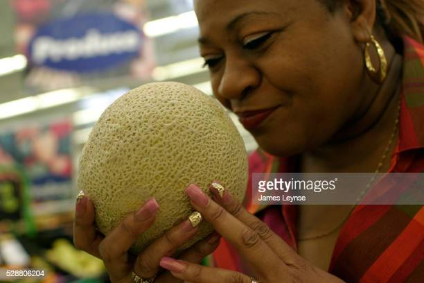 Inspecting Cantaloupes at Wal-Mart