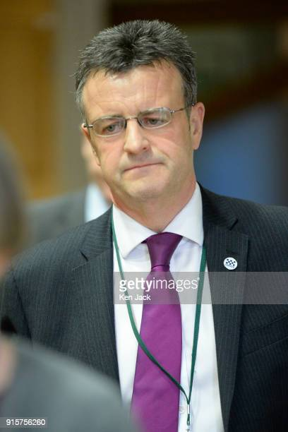 Inspector of Constabulary in Scotland Derek Penman arrives to give evidence to the Justice SubCommittee on Policing in the Scottish Parliament on...