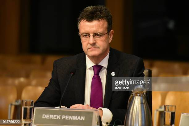 Inspector of Constabulary in Scotland Derek Penman gives evidence to the Justice SubCommittee on Policing in the Scottish Parliament on HMICS review...