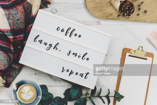 inspiration motivation quote in female winter desktop - wikipedia:citation stock pictures, royalty-free photos & images