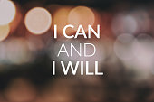Inspirational and Motivational Quotes - i can and i will