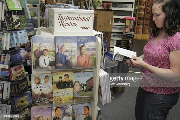 Inspirational reading on Amish lifestyle at Hershey Farm