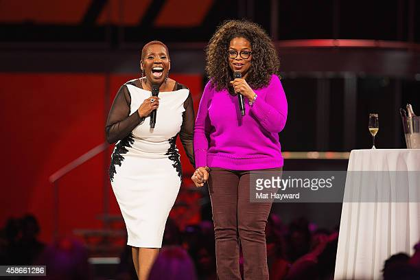 Inspirational speaker lawyer New Thought spiritual teacher author life coach and television personality Iyanla Vanzant and media proprietor talk show...