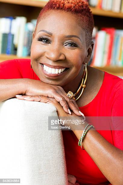 Inspirational speaker lawyer New Thought spiritual teacher author life coach and television personality is photographed Iyanla Vanzant for Self...