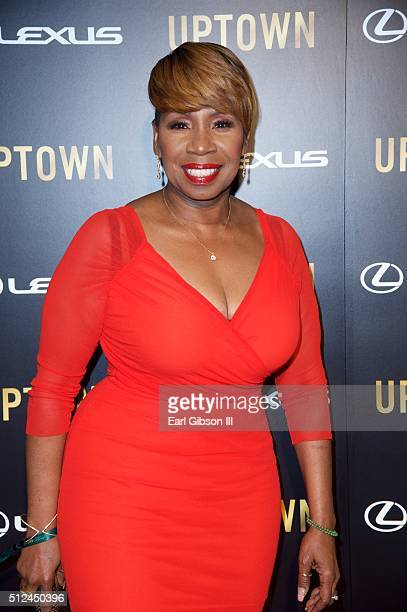 Inspirational Speaker/TV Personality Iyanla Vanzant attends the Uptown Honors Hollywood Celebration at Lure on February 25 2016 in Los Angeles...