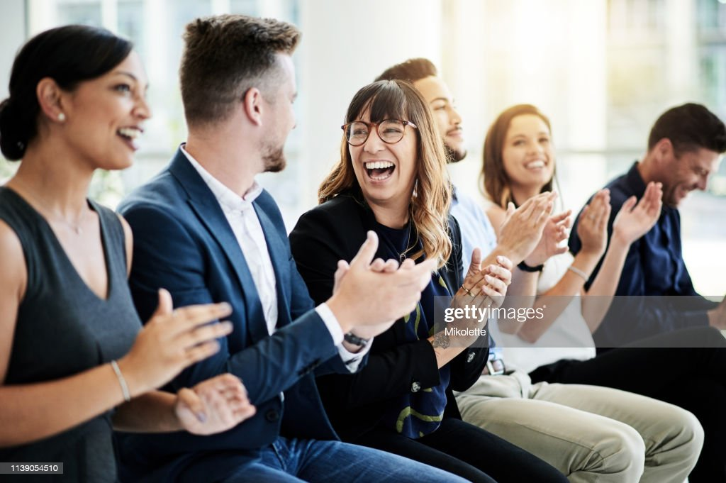 Inspire your teams to keep on achieving : Stock Photo