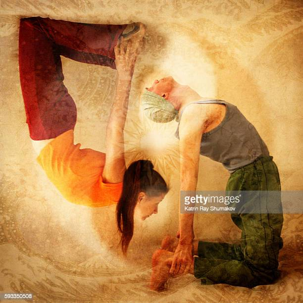 Inspiring Asanas. Heart Openness of Yin & Yang Kind