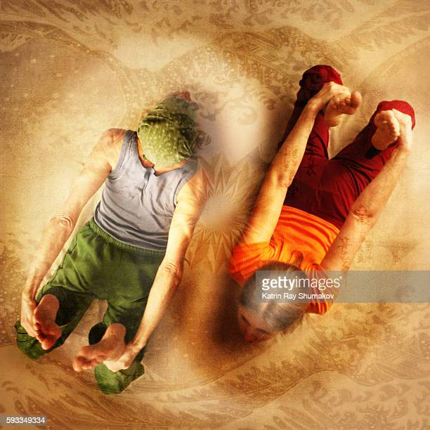 Inspiring Asanas. Swimming in The Energies of Yin & Yang