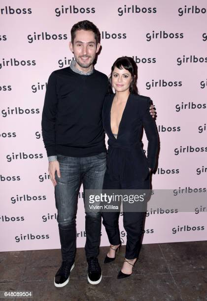 Instagram CoFounder and CEO Kevin Systrom and Girlboss Founder and CEO Sophia Amoruso attend the inaugural Girlboss Rally on March 4 2017 in Los...