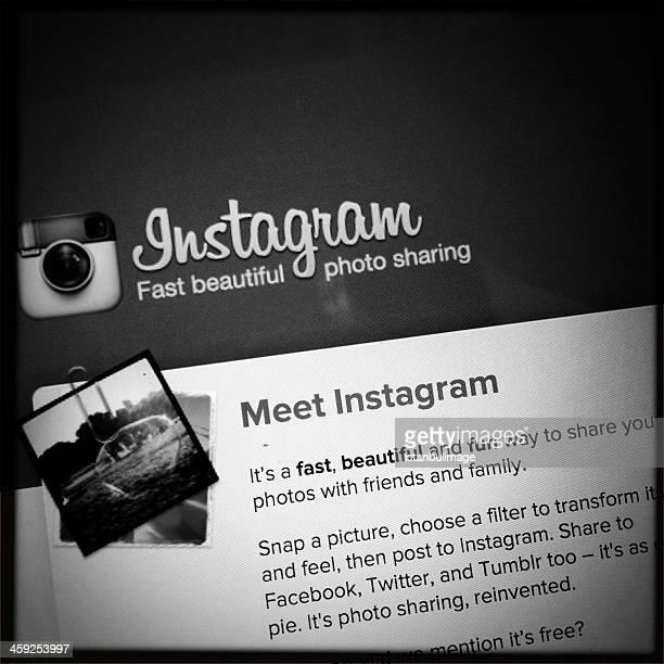 Instagram Page d'accueil