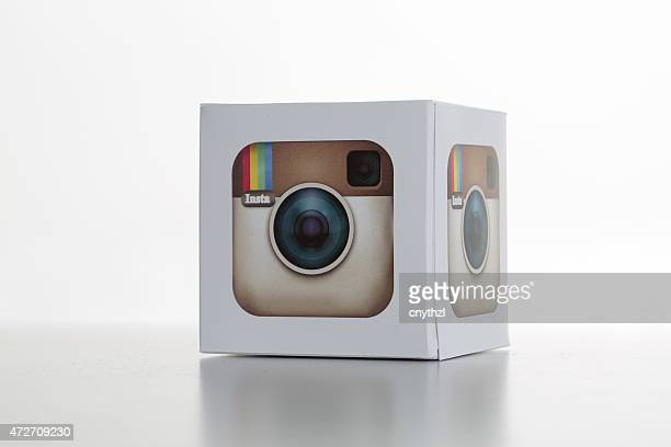 Instagram-Icon auf Whitebackground