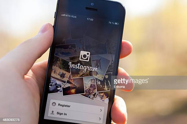 Instagram on iPhone 5