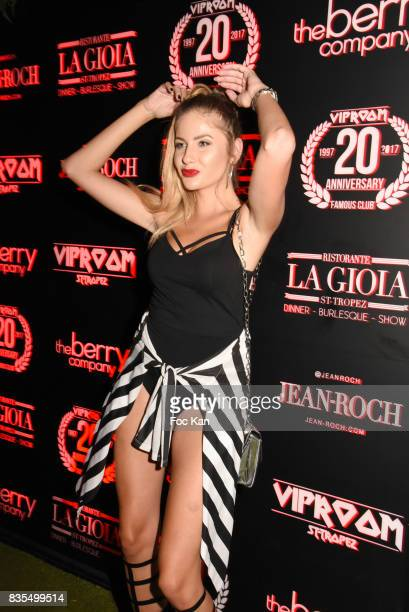 Instagram personality Bronigregus attends the Party at VIP Room as part of SaintTropez Party On French Riviera on August 18 2017 in SaintTropez France
