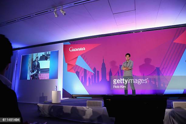 Instagram Snapchat and YouTube Personality Zach King speaks on the Telling Stories Across Screens Programmatic TV panel on the ADARA Stage at Times...