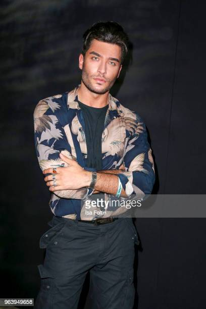 Instagram star Toni Mahfud during the Douglas X Peter Lindbergh campaign launch at ewerk on May 30 2018 in Berlin Germany