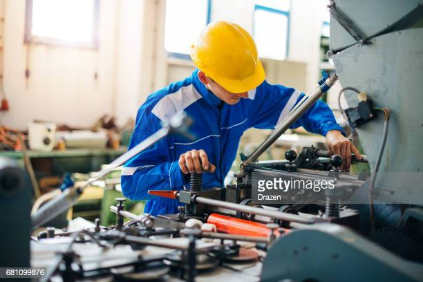 Installation and maintenance of production line machinery