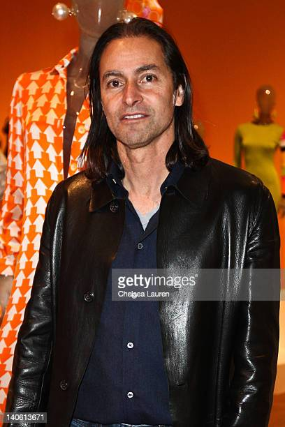 Installation designer Rod Radziner attends the MOCA Leadership Circle reception and members' opening for The Total Look The Creative Collaboration...