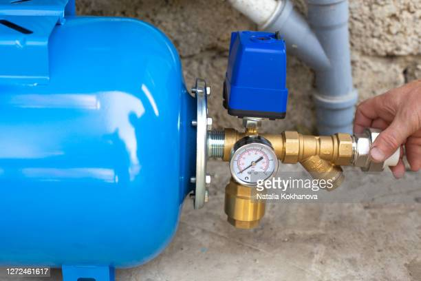 installation water supply station to residential