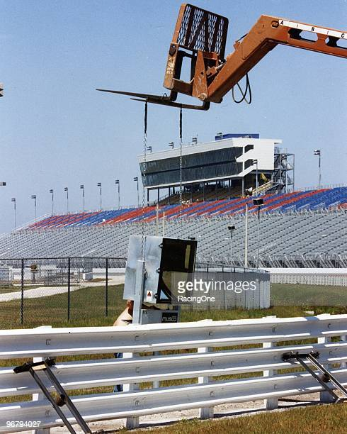 Installation of lights was done after the Daytona 500 in 1998 in preparation for Daytona International Speedway's firstever nighttime NASCAR Cup race...