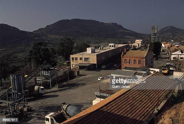 Installations of mercury mines in Almaden View of the installations of the San Teodoro Mercury mine in Almaden Ciudad Real province