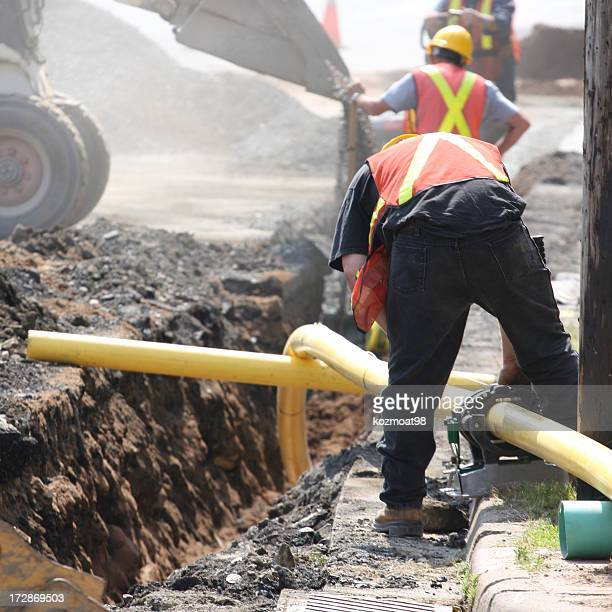 Installing A Natural Gas Pipeline