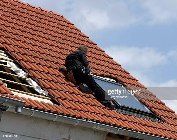 Installieren Dach Fenster