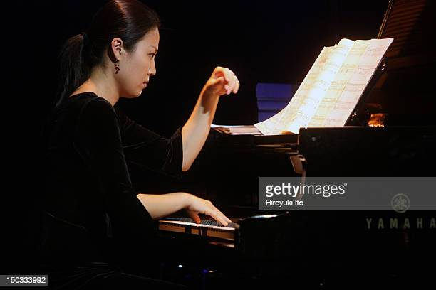 Institute and Festival for Contemporary Performance at Le Poisson Rouge on Sunday night, June 20, 2010.This image:Yejin Gil performing Pascal...