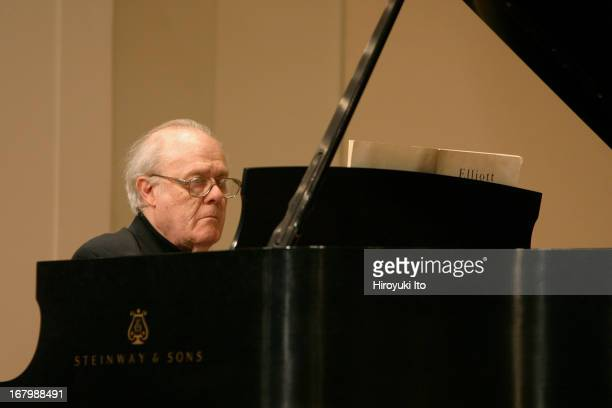 """Institute and Festival for Contemporay Performance presents """"Music of Elliott Carter"""" at Mannes College of Music on Monday night, June 20, 2005.This..."""