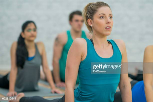 Instructing a Yoga Class
