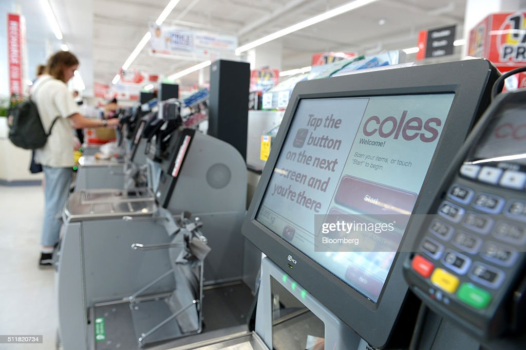 Inside A Coles Supermarket Ahead Of Wesfarmers Ltd. Results : News Photo