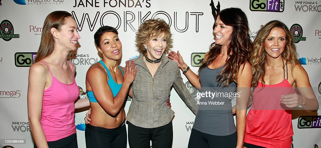 Jane Fonda Workout Launch Event : ニュース写真