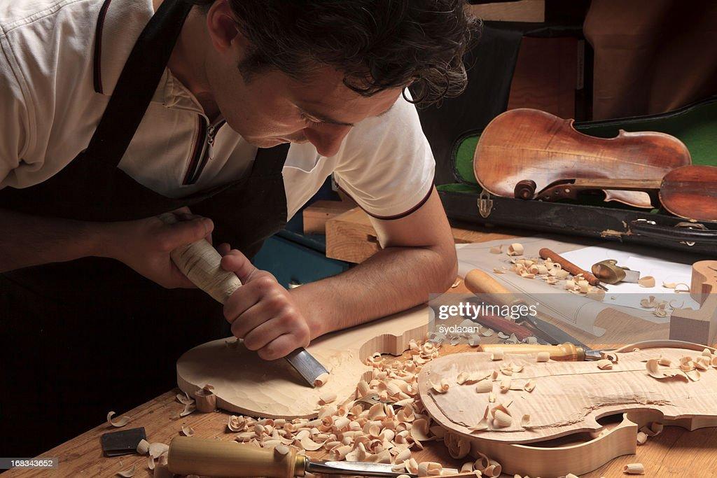 Instrument Maker : Stock Photo