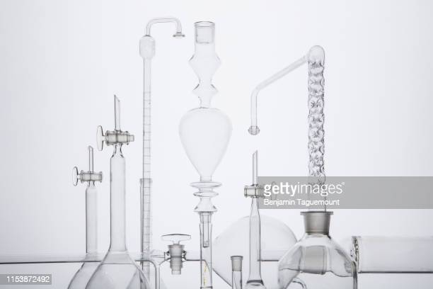instrument of chemistry and alchemy, science, measurement, test tube - laboratory glassware stock pictures, royalty-free photos & images