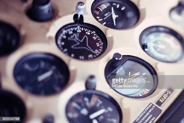 Instrument Panel Of A Cessna 172 Stock Photo - Getty Images