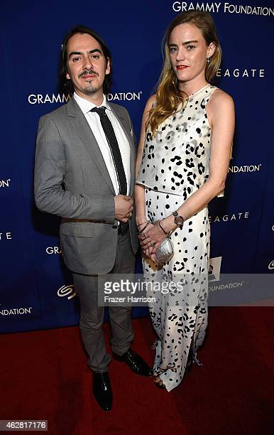 Instrumentalist Dhani Harrison and Sola Harrison at the GRAMMY Foundation's 17th annual Legacy Concert Lean On Me: A Celebration of Music and...