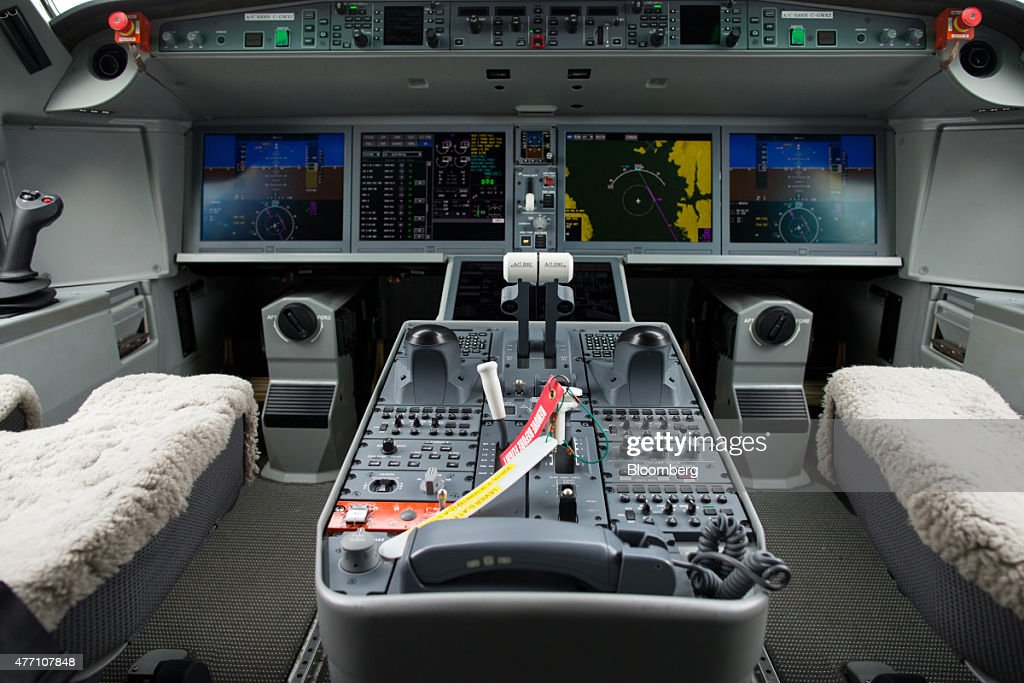 Preparations Ahead Of The 51st International Paris Air Show : News Photo