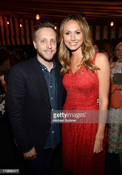 InStyle Editor Ariel Foxman Ariel Foxman and actress Stacy Keibler attend MaryKate Olsen Ashley Olsen and InStyle Editor Ariel Foxman celebrate the...