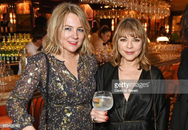 InStyle editor Charlotte Moore and Justine Southall attend the InStyle EE Rising Star Party ahead of the EE BAFTA Awards at The Ivy Soho Brasserie on...