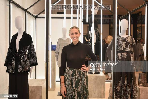 InStyle Magazine Fashion Feature Editor Laurie Pantin attends the celebration of the BCBGMAXAZRIA SoHo store opening with Kate Young Bernd Kroeber...
