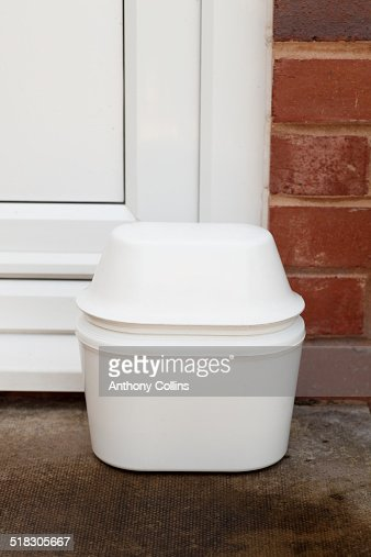 Insulated Milk Bottle Container High Res Stock Photo