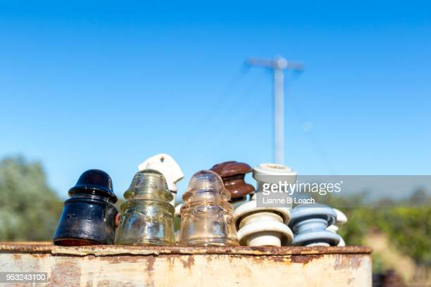 insulators - lianne loach stock pictures, royalty-free photos & images