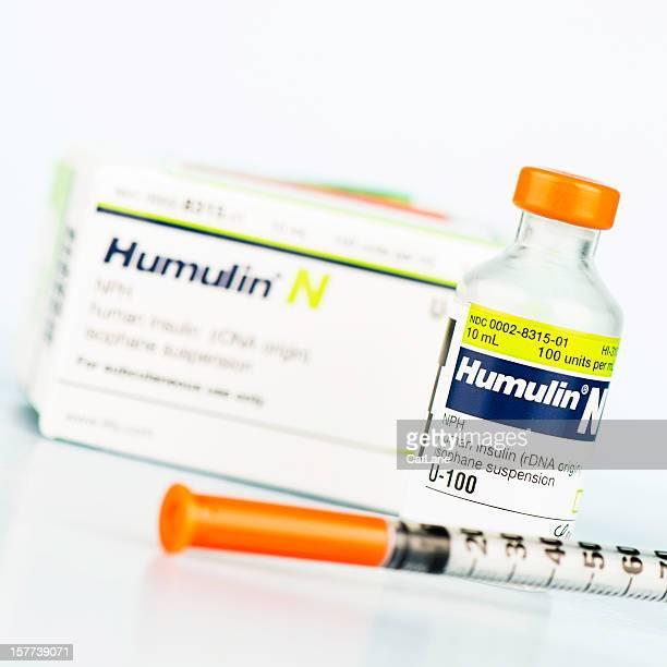 Insulin und Spritze