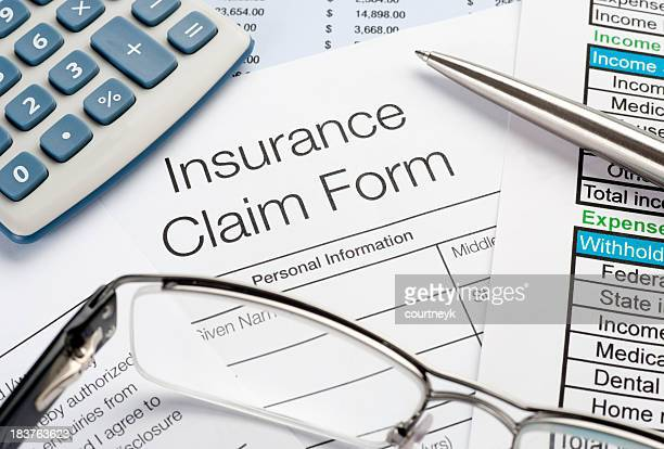 insurance claim - health insurance stock pictures, royalty-free photos & images