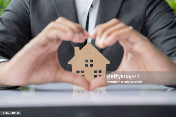insurance home house life protection protect concepts. - house icon stock pictures, royalty-free photos & images