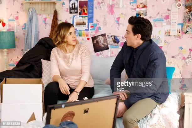 SUPERSTORE Integrity Award Episode 218 Pictured America Ferrera as Amy Ben Feldman as Jonah