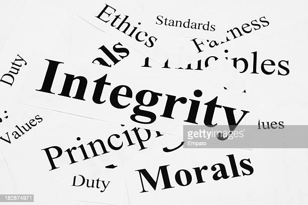 Integrität-Konzept.